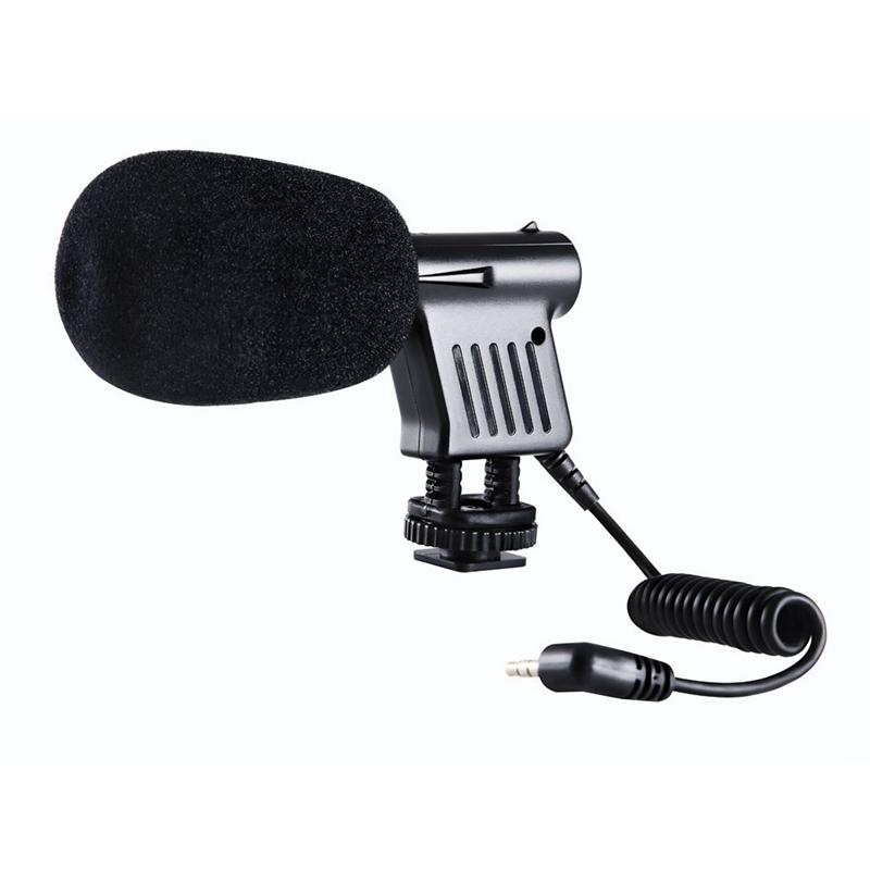 10X-BOYA-BY-VM01-Video-Condenser-miniphone-for-Nikon-DSLR-Camcorder-Q9U1