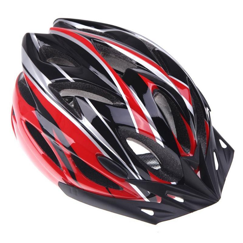 Casco-de-bicicleta-ciclismo-deportes-ultraligero-molde-solidario-con-visera-7S1 miniatura 3