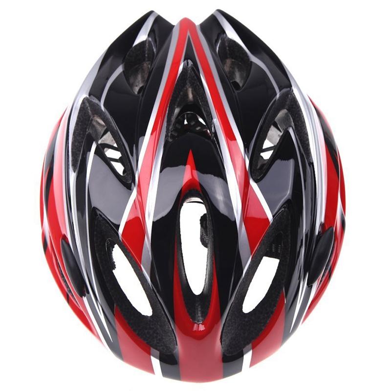 Casco-de-bicicleta-ciclismo-deportes-ultraligero-molde-solidario-con-visera-7S1 miniatura 4