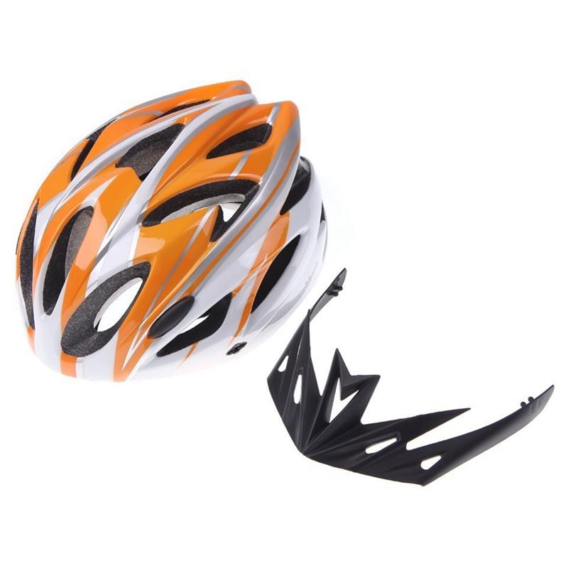 Casco-de-bicicleta-ciclismo-deportes-ultraligero-molde-solidario-con-visera-7S1 miniatura 10