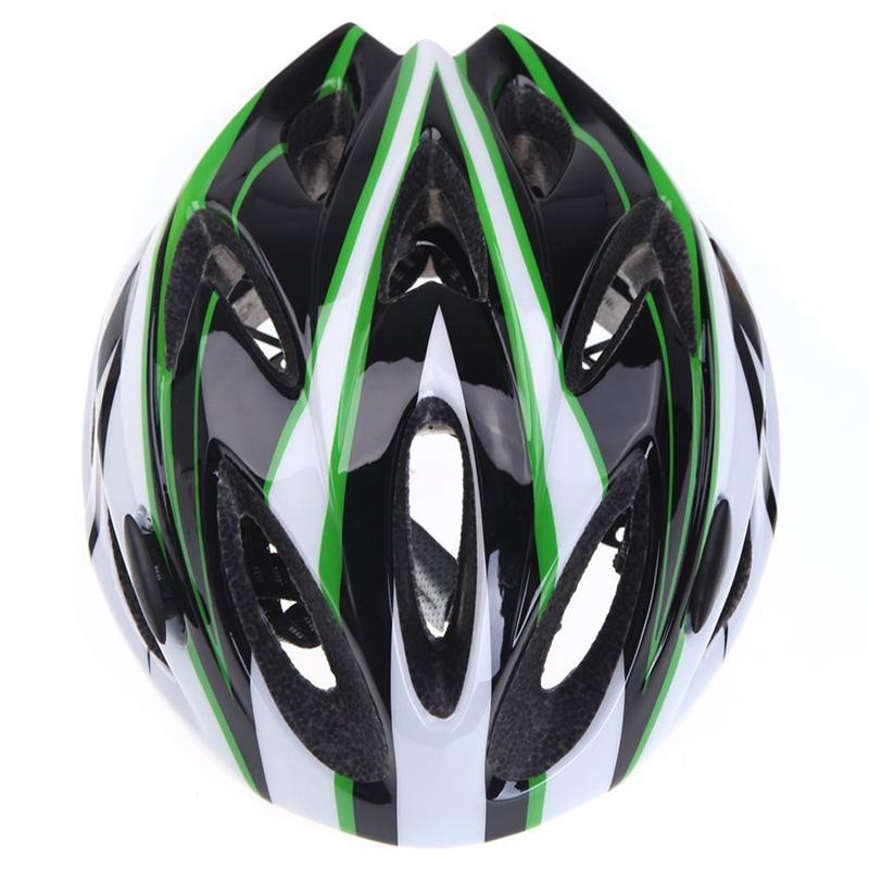 Casco-de-bicicleta-ciclismo-deportes-ultraligero-molde-solidario-con-visera-7S1 miniatura 15