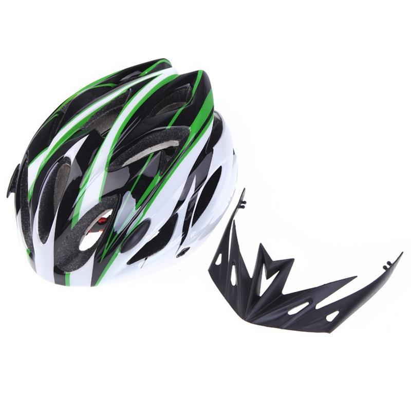Casco-de-bicicleta-ciclismo-deportes-ultraligero-molde-solidario-con-visera-7S1 miniatura 18