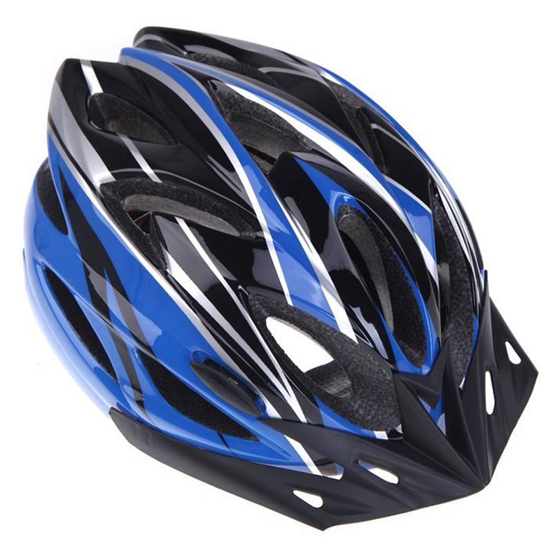 Casco-de-bicicleta-ciclismo-deportes-ultraligero-molde-solidario-con-visera-7S1 miniatura 21