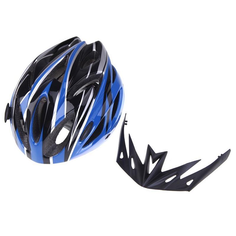 Casco-de-bicicleta-ciclismo-deportes-ultraligero-molde-solidario-con-visera-7S1 miniatura 24