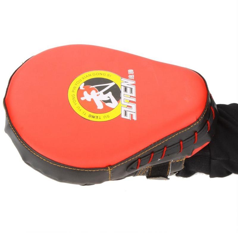 SUTENG-PU-Boxhandschuh-Ausbildungsziel-Fokus-Boxen-Polster-Handschuh-Sanda-L5T1 Indexbild 3