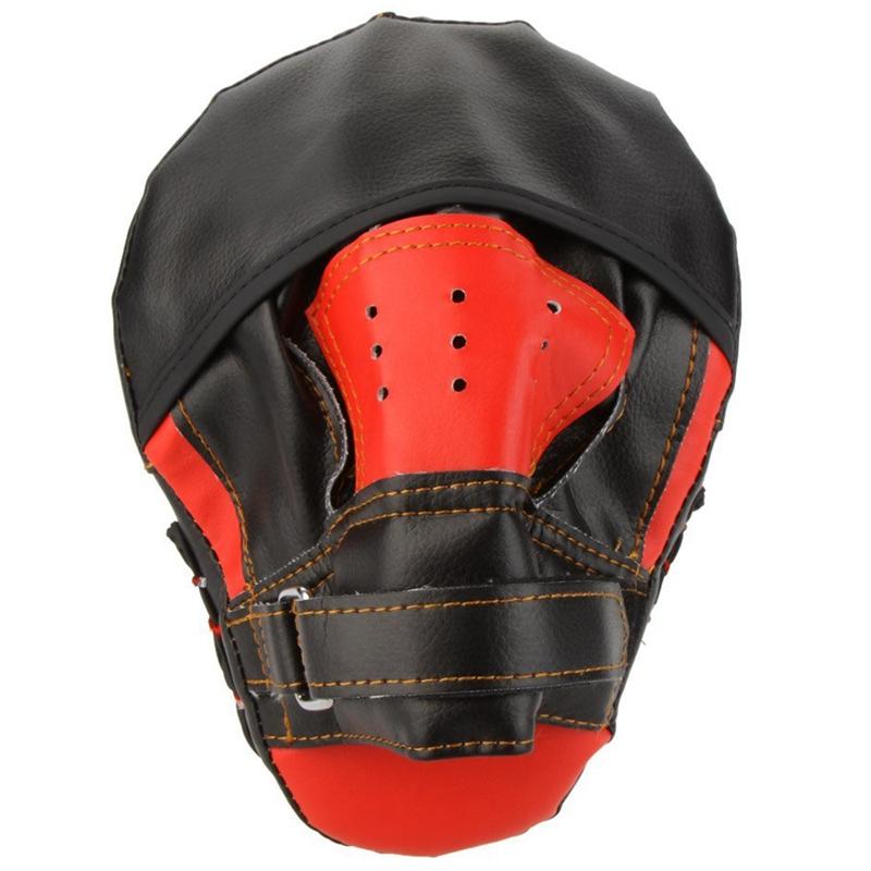 SUTENG-PU-Boxhandschuh-Ausbildungsziel-Fokus-Boxen-Polster-Handschuh-Sanda-L5T1 Indexbild 4