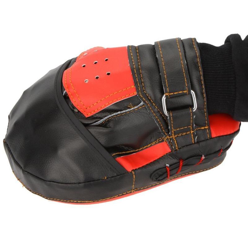 SUTENG-PU-Boxhandschuh-Ausbildungsziel-Fokus-Boxen-Polster-Handschuh-Sanda-L5T1 Indexbild 6
