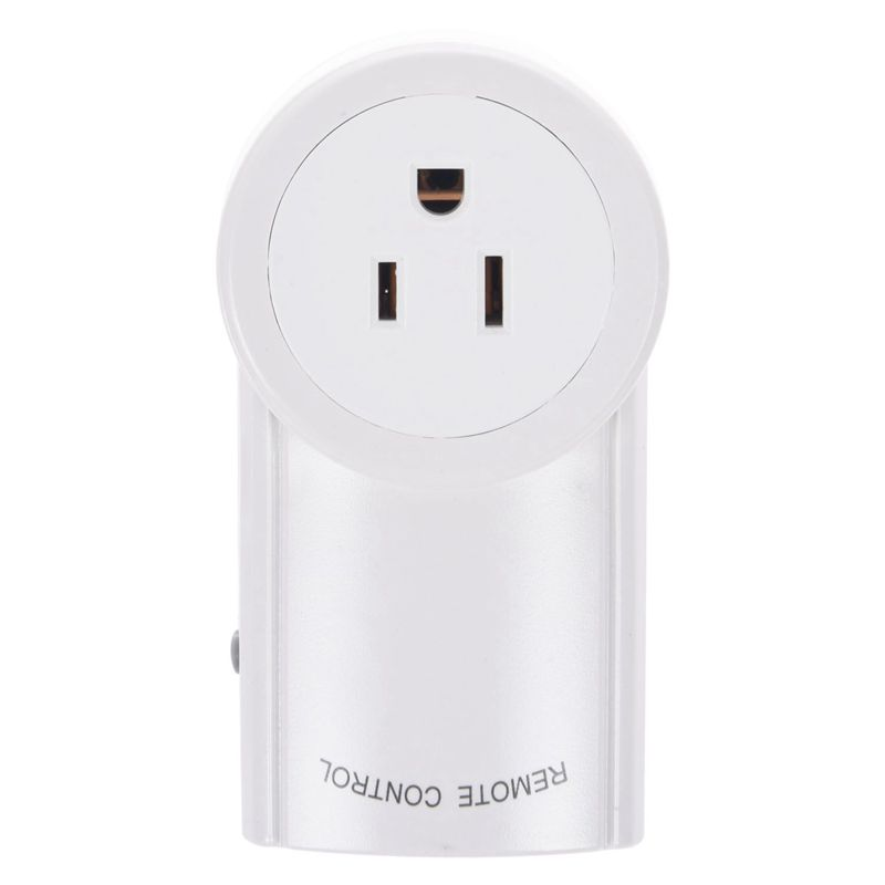 Wireless Remote Control AC Electrical Power Outlet Switches Socket ...