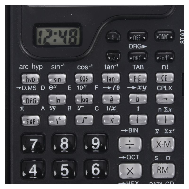 how to use electronic scientific calculator
