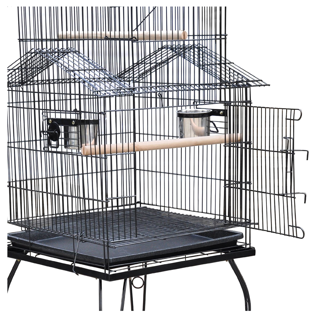 Large-scale Iron Wire Parrort Large Bird Cage J6J2