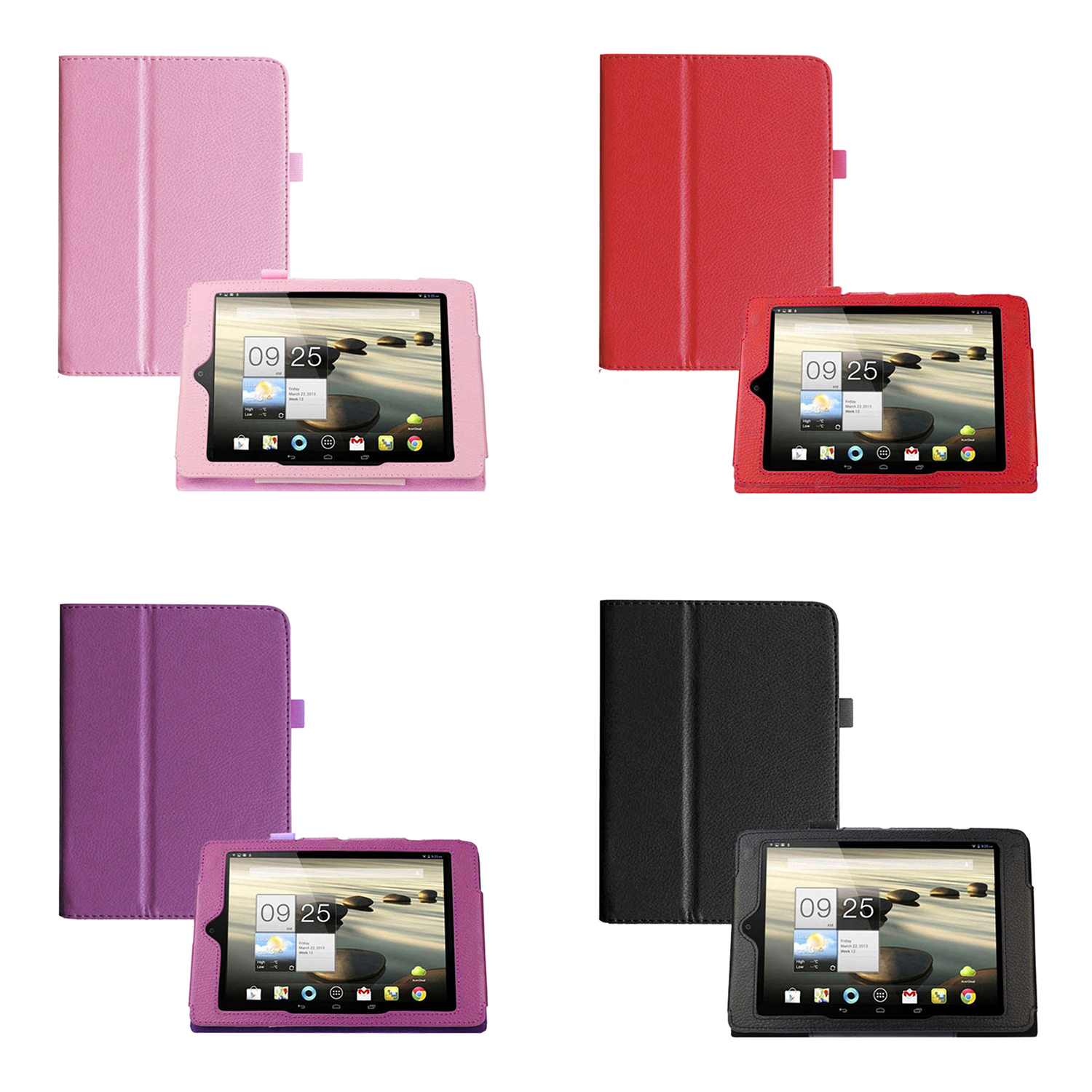 Folding Folio Leather Case Cover Stand for Acer Iconia A1 A1-810 7.9