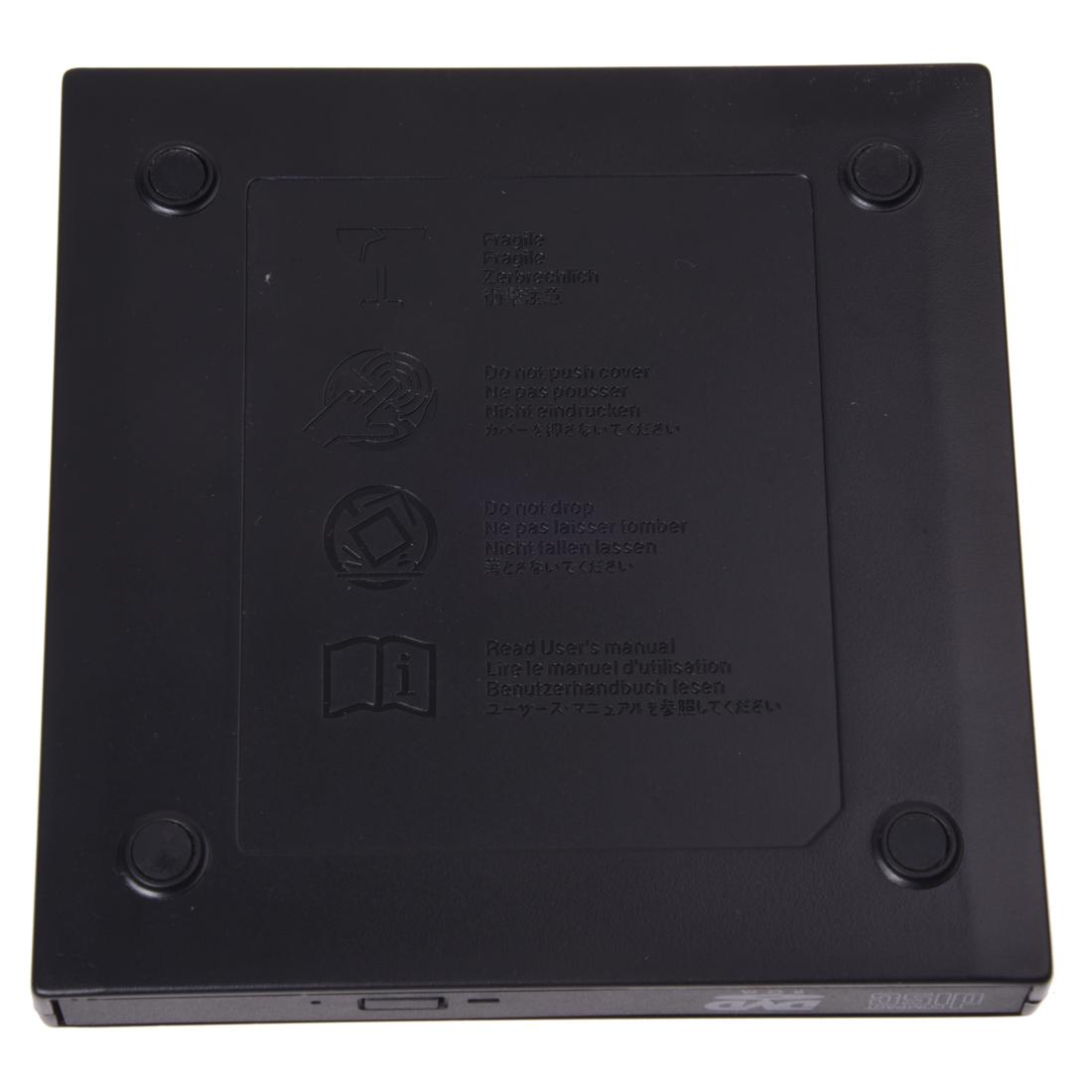 sodial r 12 7 mm externes usb kabel cd rom laufwerk mit. Black Bedroom Furniture Sets. Home Design Ideas