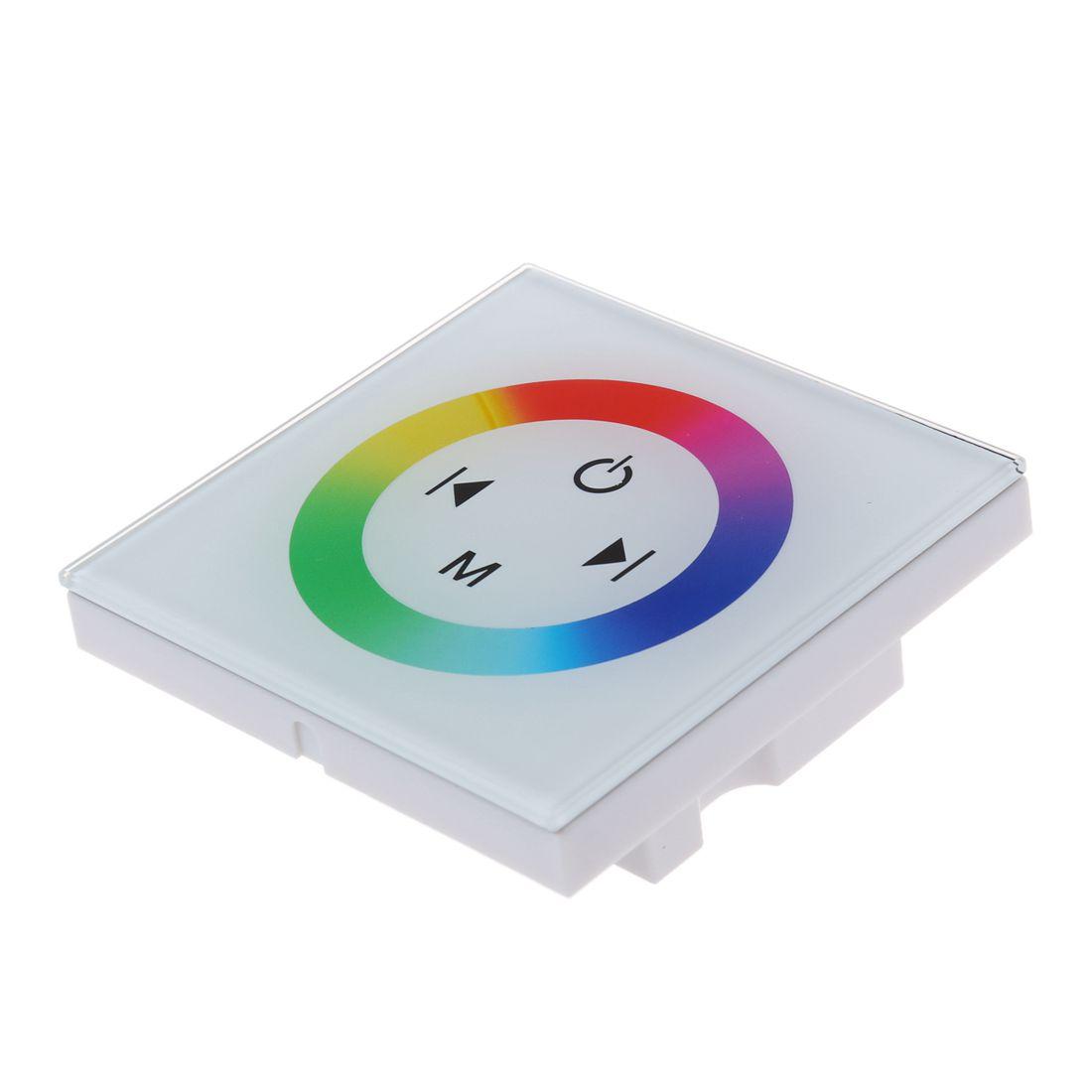Dimmer Touch Schalter Kontroller Lichtschalter Wandeinbau fuer RGB ...