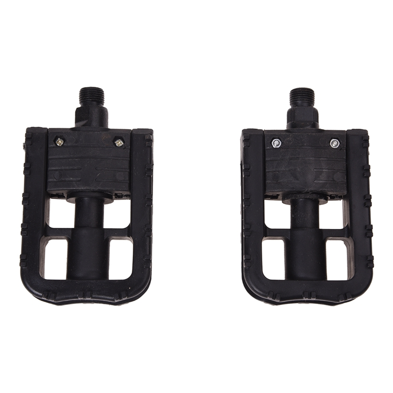 Cycling-Bike-Bicycle-MTB-BMX-Folding-Plastic-Pedals-Flat-Platform-Outdoor-B-F0I4