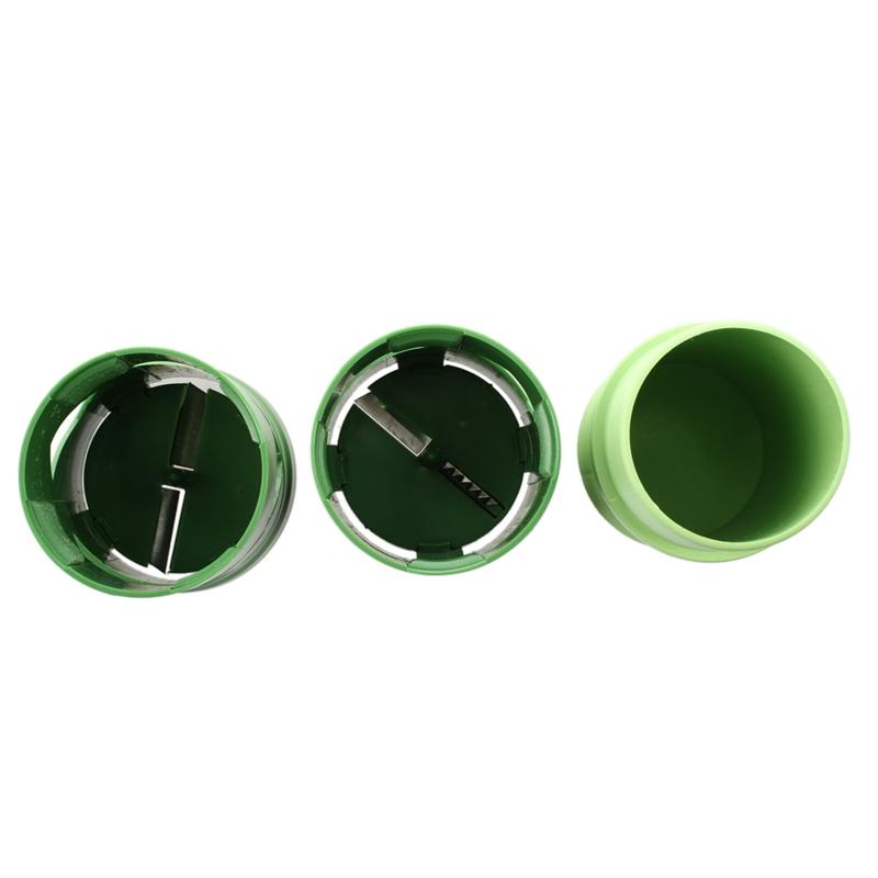 5X-Obst-und-Gemuese-Verarbeitungsgeraet-in-Scheiben-geschnitten-geschredde-B2E5