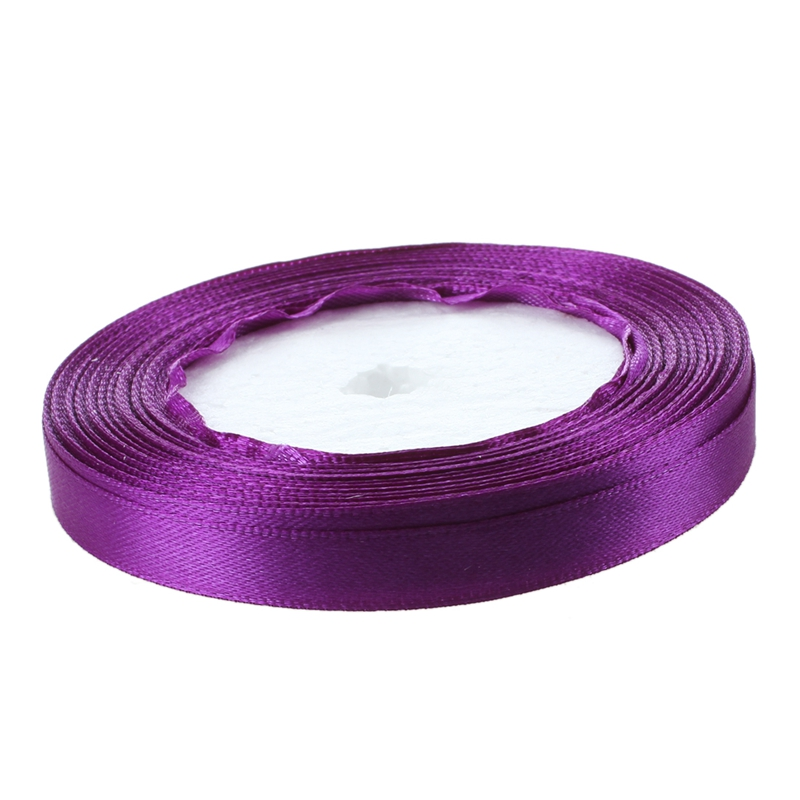 Image Is Loading 3 8 034 10mm 25 Yards Satin Ribbon