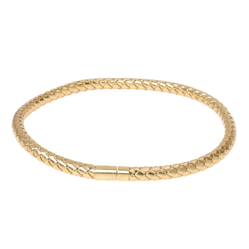 29d794689a86 2X(Tono de oro Hombre Mujer Gargantilla Collar cuerda trenzada de cuero  0.3B5P2)