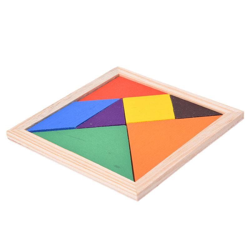 Erziehung Holz Puzzle Tangram Denken Sport Aufgaben Baby 11.5 Spielzeug 11.5 Baby  1 X7K5 0c60d7
