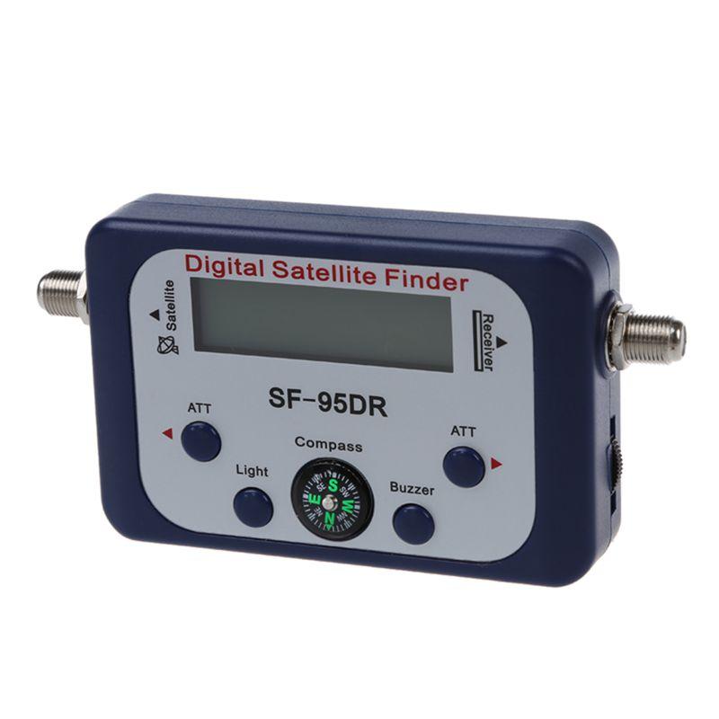 digital lcd satellite signal meter finder directv dish. Black Bedroom Furniture Sets. Home Design Ideas