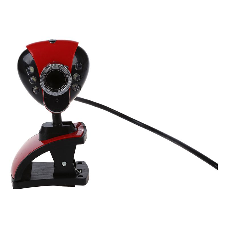 1X-USB-50M-6-LEDs-Night-Vision-Webcam-Camera-Web-Cam-With-Mic-for-PC-Laptop-B5W6 thumbnail 4