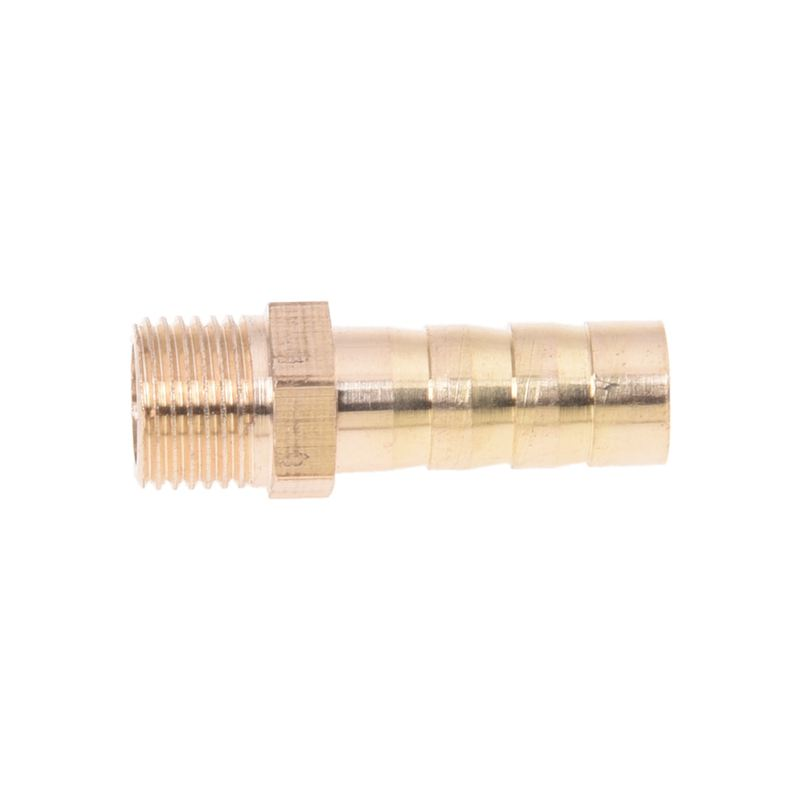 5PCS-Brass-8mm-Air-Gas-Pipe-Hose-Barb-1-8-034-PT-Male-Thread-Joints-Fittings-N4G6