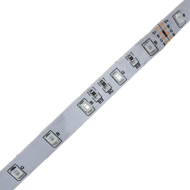 5M 300 3528 SMD LED Lichterkette Licht Leiste Strip RGB DC 12V GY