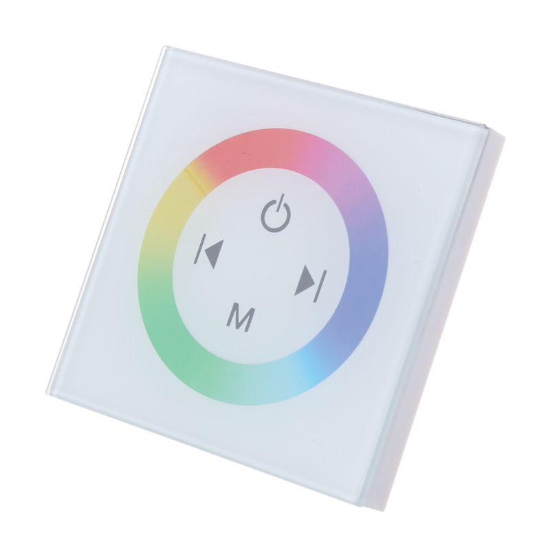 10X (controladora Táctil Interruptor Regulador Intensidad de Luz para LED Lámpara de Parojo RGB T3N8)