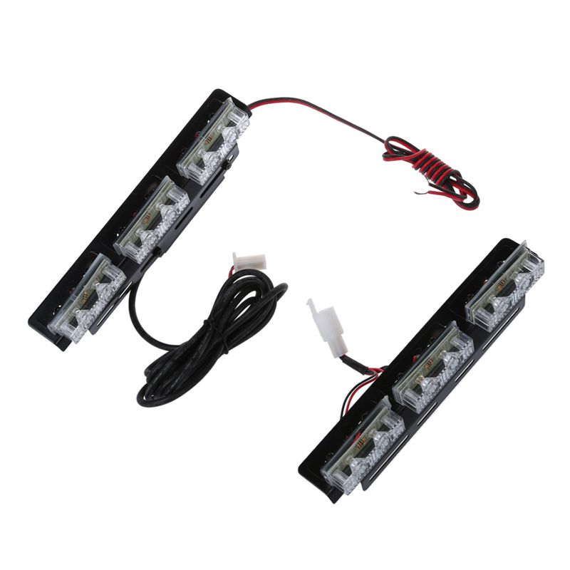 10X(SODIAL(R) 2x Strobe lumiere de camera de vitesse de voiture 6 eclairage  V8)