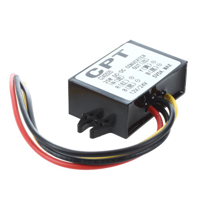 10X( DC   DC transformer driver DC 12V   24v DC 5V   5A MAX   MAX 25W K4W4)