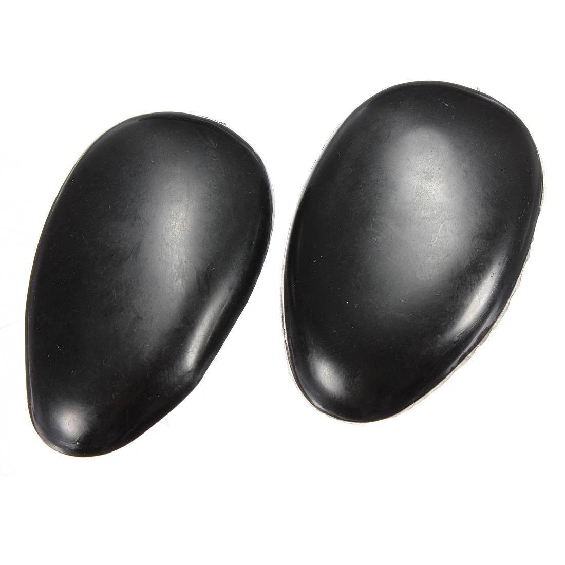 1 Pair Black Plastic Hair Dye Color Coloring Ear Cover WS ...