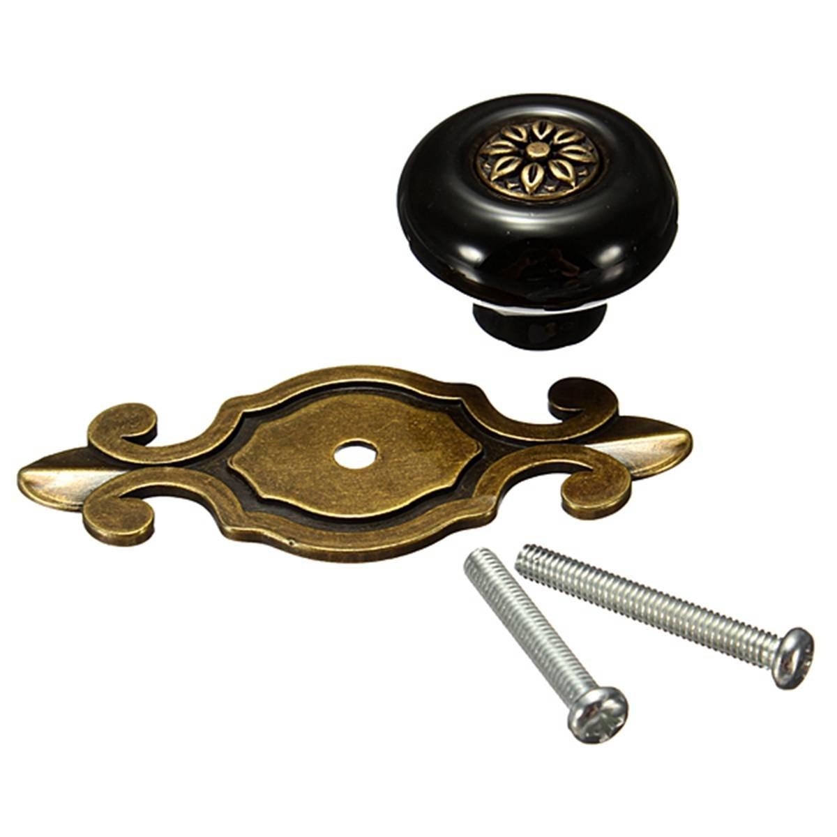 Boutons de poignee en ceramique de porte d 39 armoire de - Poignee de porte ceramique ...