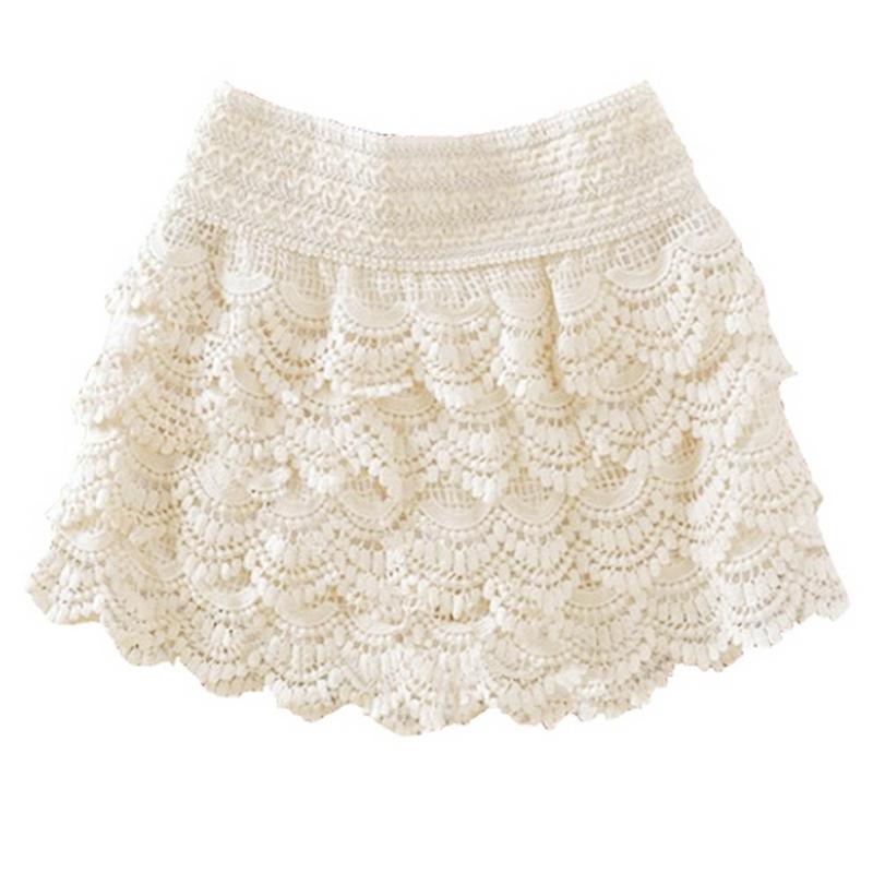 Detalles de Pantalones cortos para mujer chica Pantalones cortos de encaje fino de al Q5H9