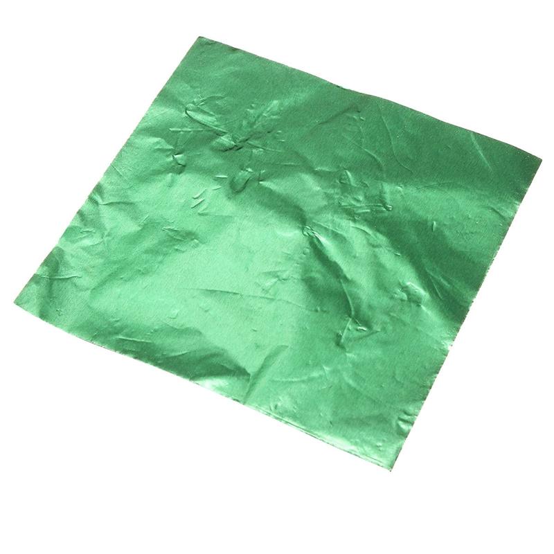 100pcs de Papel de Envolturas de aluminio para Dulce Chocolate ...