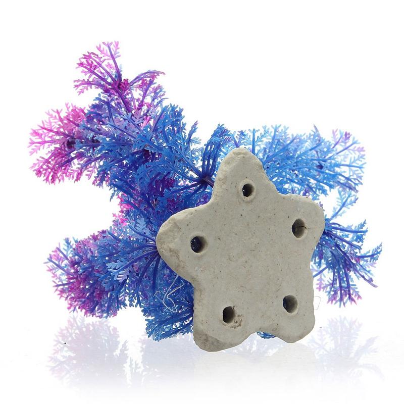5X-11cm-de-Plantas-de-agua-plasticas-artificiales-para-Estanque-de-Pescado-K1H3