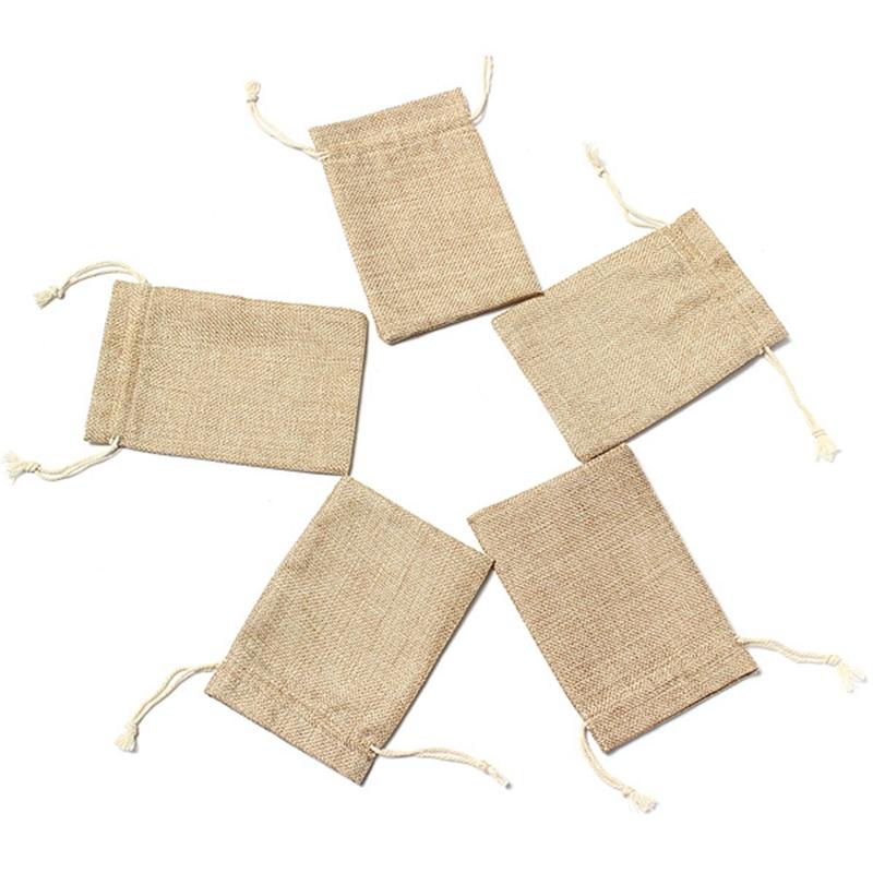 5pcs-de-Saco-de-yute-de-la-arpillera-de-la-vendimia-Saco-los-bolsos-con-los-cord