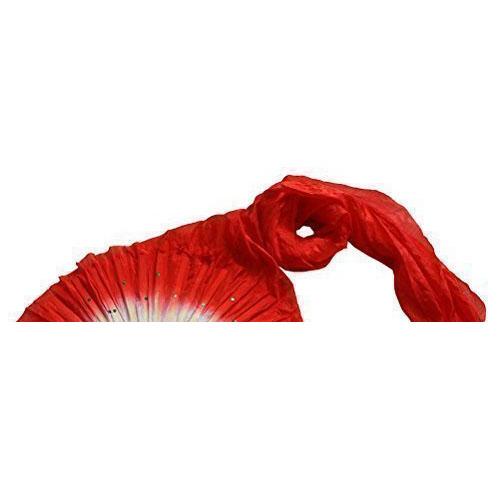 Hot-sale-1-8m-Hand-Made-Belly-Dance-Dancing-Silk-Bamboo-Long-Fans-Veils-Red-H3A4