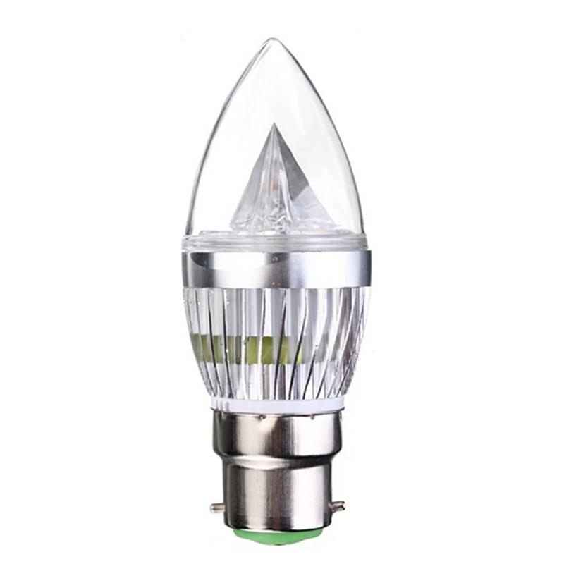 6-x-B22-4-5W-LED-Luz-de-Vela-en-forma-de-bayoneta-BC-color-de-luz-de-Blanco-cali