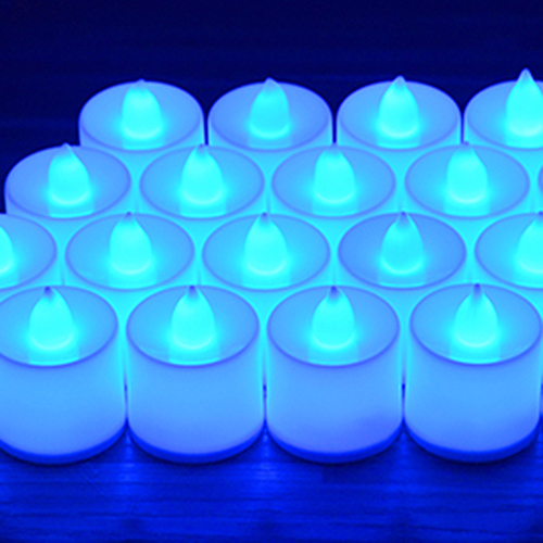 10X-1P-LED-lampe-de-bougie-de-lumiere-batteries-electronique-sans-flamme-R6Y1 miniature 3