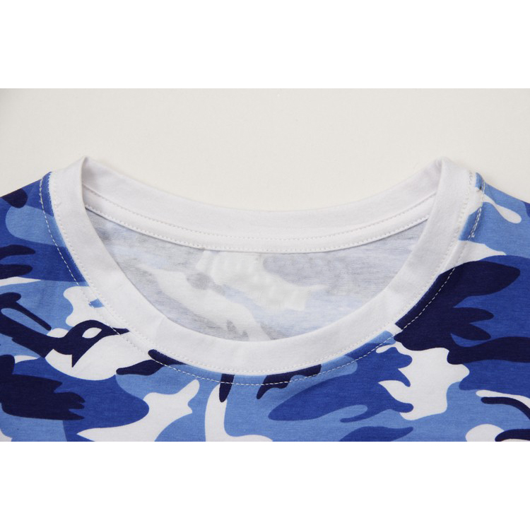 Camiseta-del-camuflaje-informal-del-hombre-Camiseta-de-combate-del-brazo-de-E9K5 miniatura 4