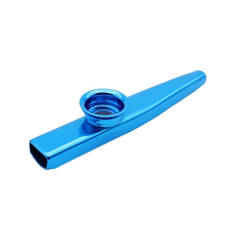 Kazoo-Aluminum-alloy-Metal-with-5-pcs-Gifts-Flute-Diaphragm-for-Children-Mu-Z2L7 thumbnail 3