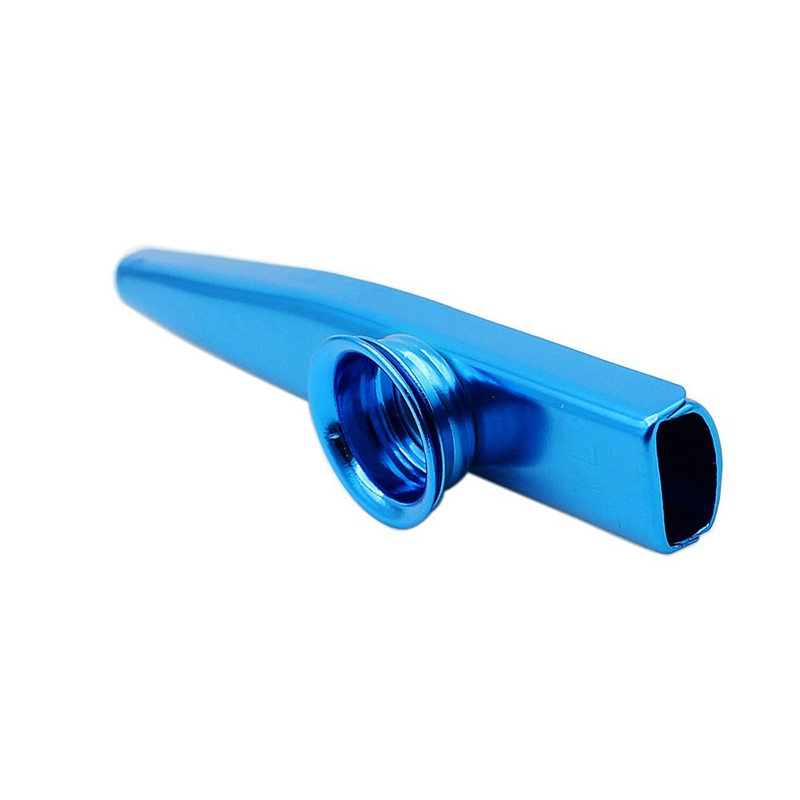 Kazoo-Aluminum-alloy-Metal-with-5-pcs-Gifts-Flute-Diaphragm-for-Children-Mu-Z2L7 thumbnail 6