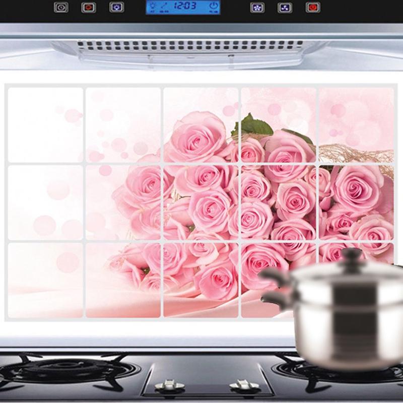 Calcomania-de-pared-rosa-rosada-para-cocina-decoracion-arte-pegatinas-a-prueb3Z6