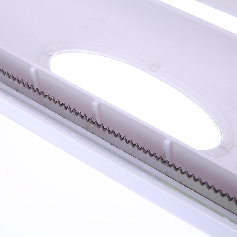 2x Derouleur De Film Alimentaire Couper Papier D Aluminium Distributeur De P Rw1 Ebay