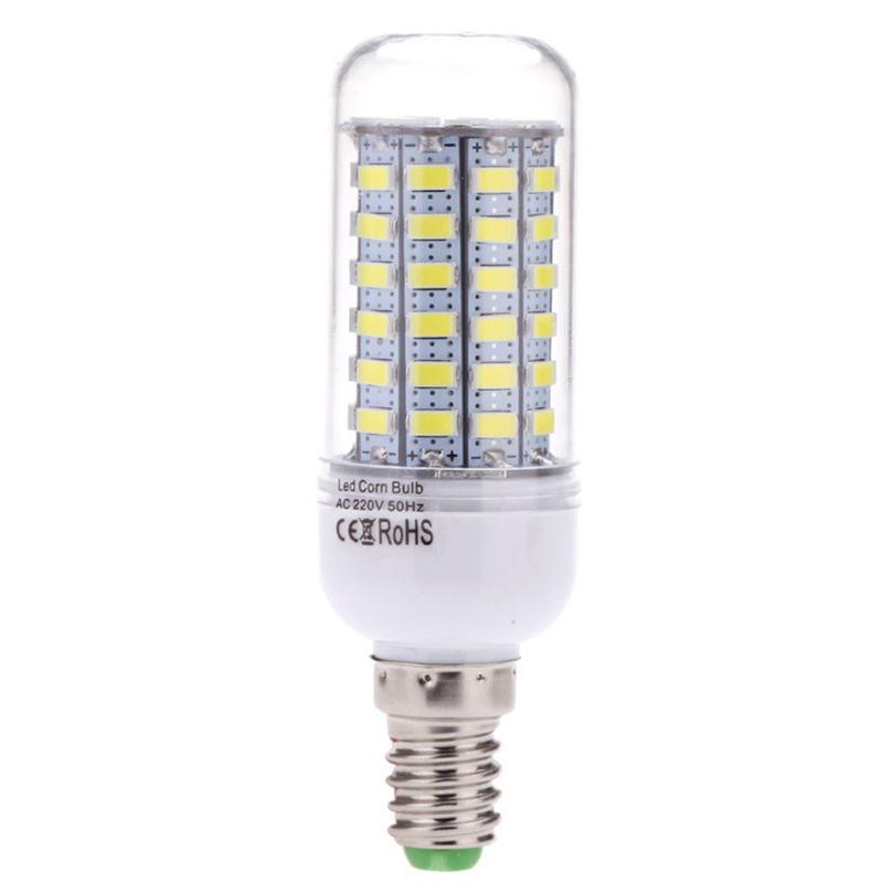 E14 10W 5730 SMD 69 LED Mais Licht Lampe Energieeinsparung 360 Grad Warmweiss 2I