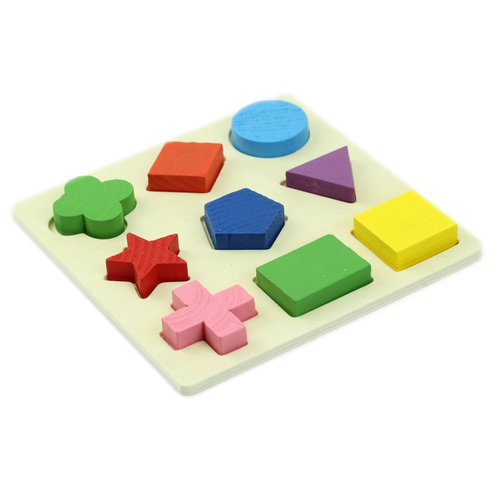 Cognitive Learning Toys : Baby wooden cognitive boards educational toy