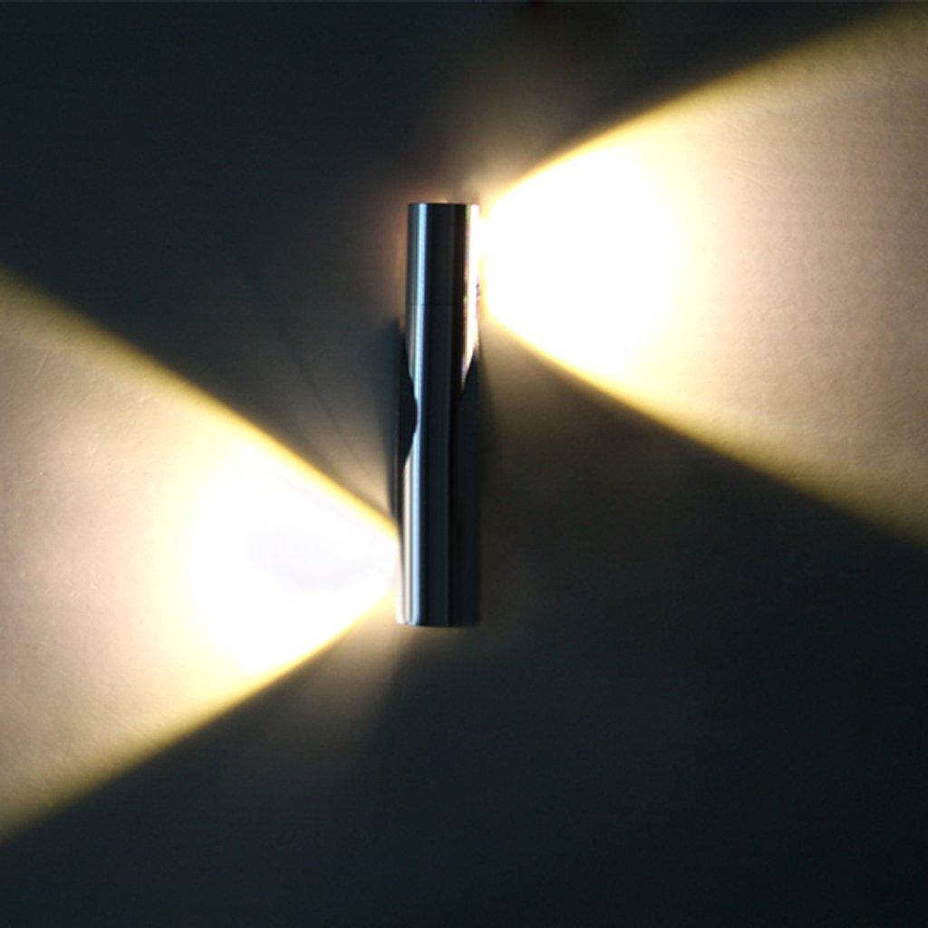 6w warm led wandleuchte wandlampe wandbeleuchtung moderne for Moderne wandbeleuchtung