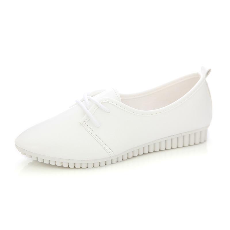 Zapatos-Planos-De-Las-Mujeres-De-La-Vendimia-De-Moda-Nueva-Blanco-EE-UU-6-B5R5 miniatura 6