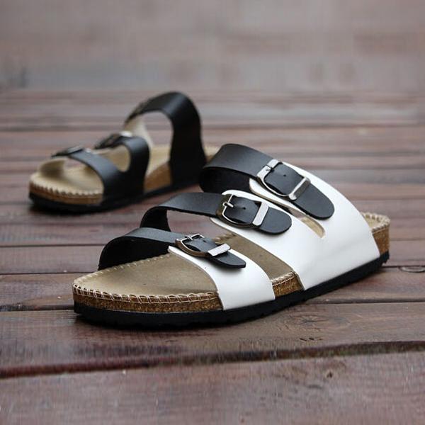 RUIZUU-Chancletas-deportivas-Sandalias-de-playa-Zapatillas-de-Mujer-Hombres-PB miniatura 11