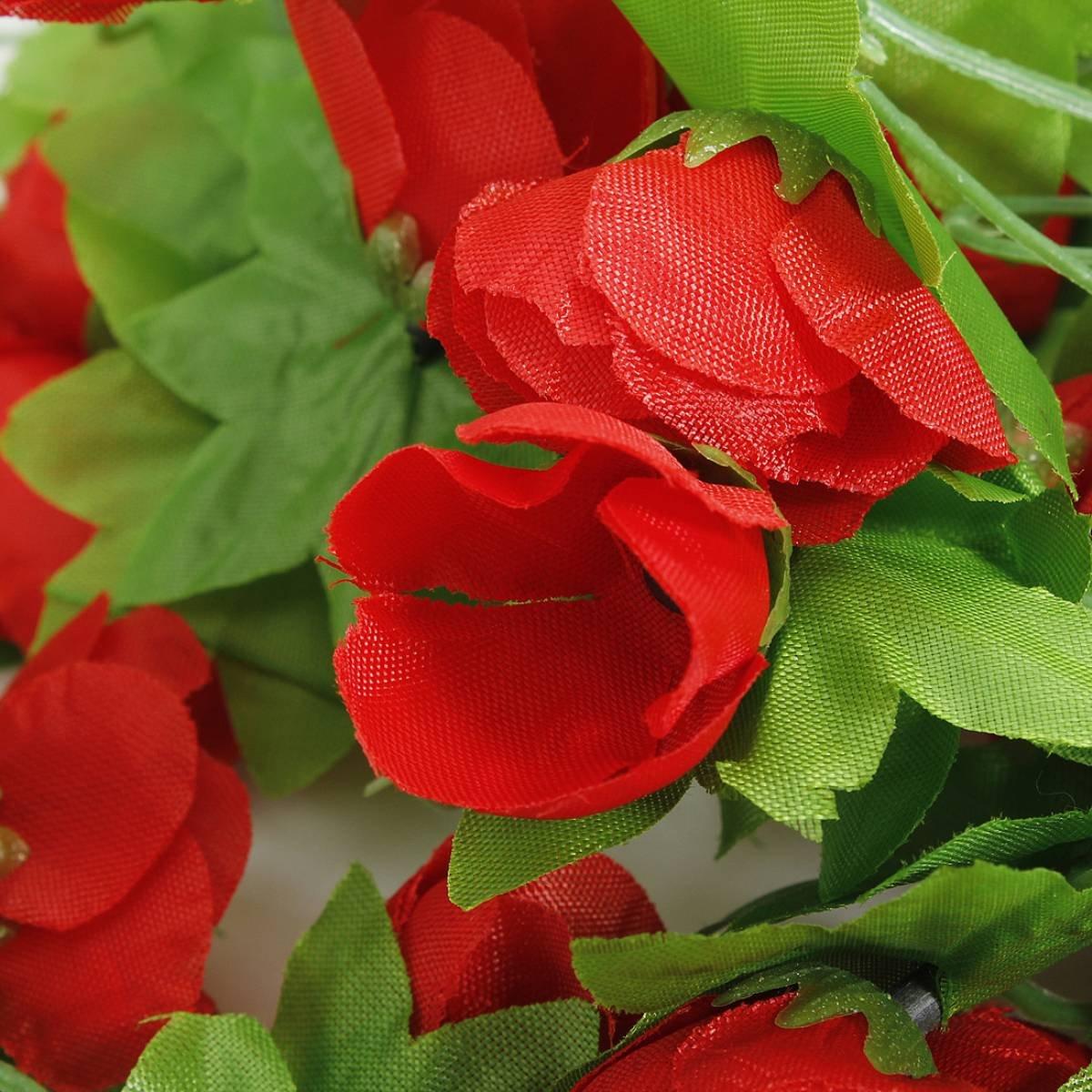 kuenstliche blumen blumengirlande rosengirlande garland wand home party gar c2e3 ebay. Black Bedroom Furniture Sets. Home Design Ideas
