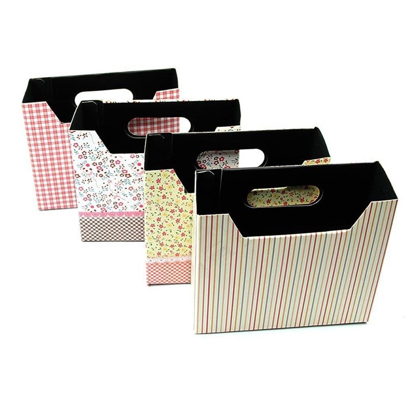2pzs-Caja-de-almacenamiento-de-carton-DIY-papeleria-cosmeticos-maquillaje-lindo